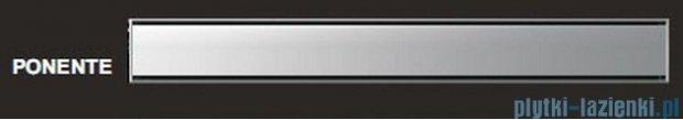 Wiper Odpływ liniowy Premium Ponente 70cm z kołnierzem mat P700MPS100