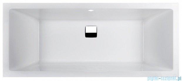 Sanplast Space Line Wanna prostokątna+adapter z pokrywką WP/SPACE 180x80, 610-100-0250-01-000