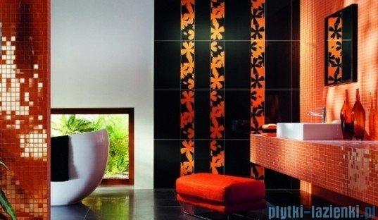 Mozaika ścienna prostokątna Tubądzin Colour Orange 32,7x29,5