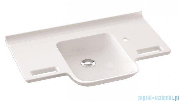 Marmorin Uni Umywalka wisząca bez otworu 85cm biała 550085020010