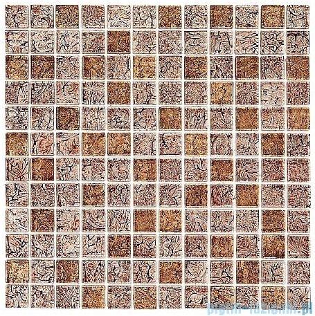 Dunin Spark mozaika szklana 30x30 almond mix 23