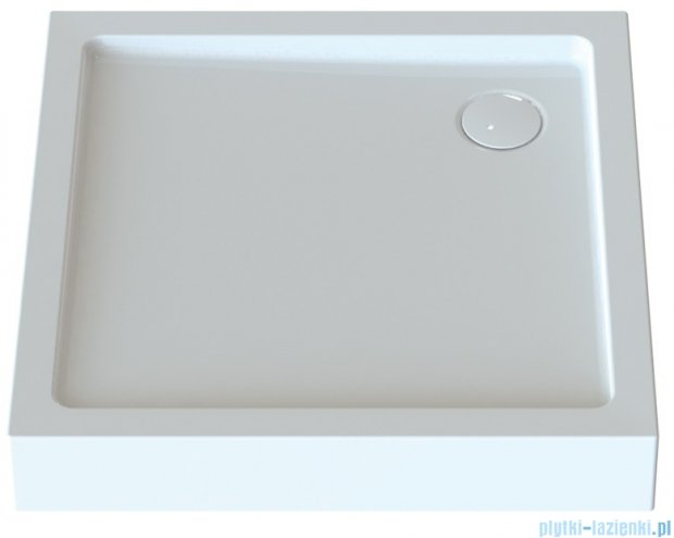 Sanplast Free Line brodzik kwadratowy zabudowany Bza/FREE 90x90x5 cm 615-040-1130-01-000