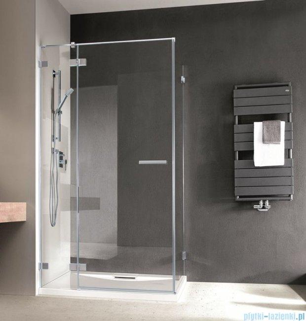 Radaway Euphoria KDJ Kabina prysznicowa 100x80 lewa szkło przejrzyste 383040-01L/383051-01
