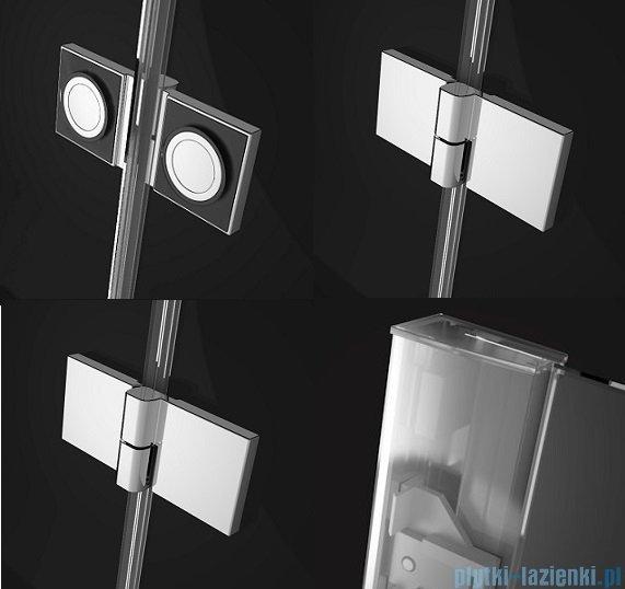 Radaway Essenza New Pnd parawan nawannowy 120cm prawy szkło przejrzyste 207212-01R