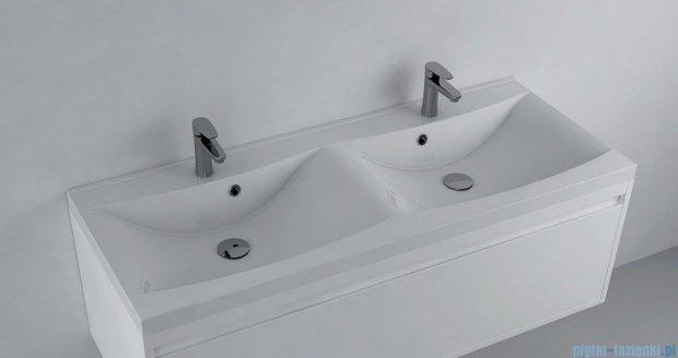 Antado umywalka dolomitowa podwójna 120x48cm UMML-1200D