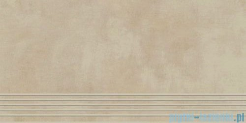 Paradyż Tecniq beige mat stopnica 29,8x59,8