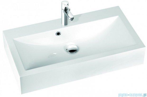 Marmorin umywalka nablatowa Ceto 90cm z otworem biała 170090022011