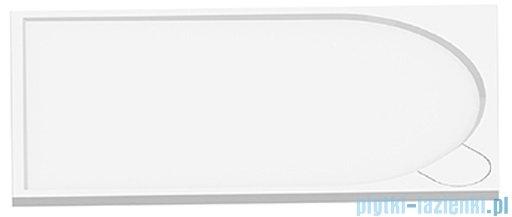 New Trendy Fluo brodzik prostokątny z konglomeratu 160x80x3 cm B-0356