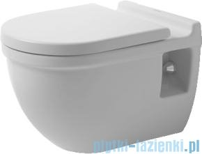 Duravit Starck 3 miska toaletowa wisząca lejowa komfort 360x545 221509 00 00