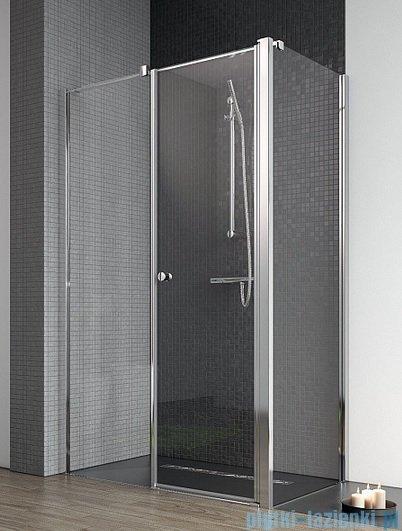 Radaway Eos II KDS kabina prysznicowa 120x80 lewa szkło przejrzyste + brodzik Argos D + syfon 3799484-01L/3799410-01R/4AD812-01