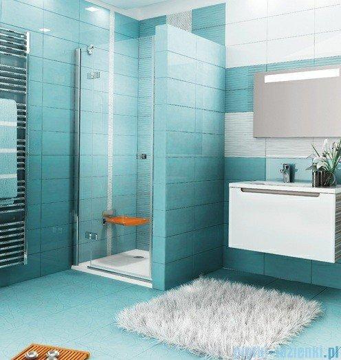 Ravak Drzwi prysznicowe SmartLine SMSD2-90 B lewe chrom+transparent 0SL7BA00Z1