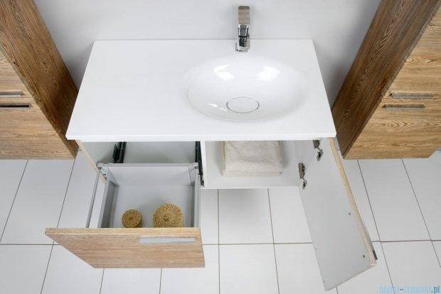 Antado Sycylia szafka z umywalką prawa 90x48x45 świerk tatrzański KTS-140/2-66R + UMMO-900-03R