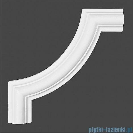 Dunin Wallstar profil dekoracyjny ścienny gładki 2x2x2cm PP-041B