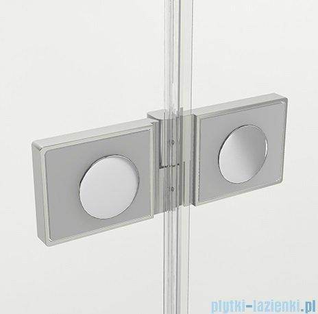 New Trendy Reflexa 90x200 cm drzwi wnękowe lewa przejrzyste EXK-1206