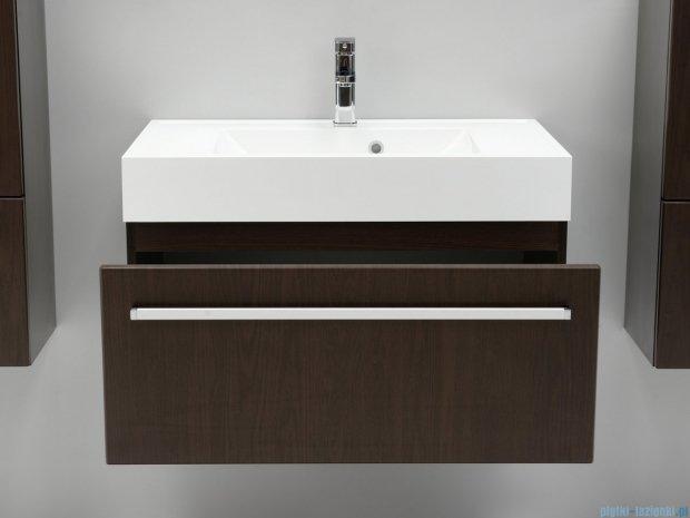 Antado Variete szafka z umywalką, wisząca 80x50x33 wenge mat FDM-442/8 + UNA-800