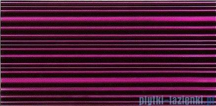 Dunin 3D Mazu płytka szklana 60x30 violet strip