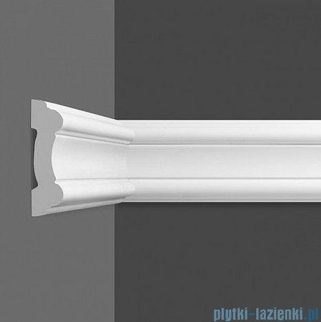 Dunin Wallstar profil dekoracyjny ścienny gładki 8x2x200cm PP-081