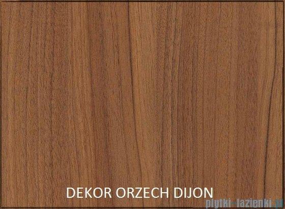 Antado Grande słupek wysoki lewy 40x32x150 orzech Dijon+biały GR-161L-3734/WS