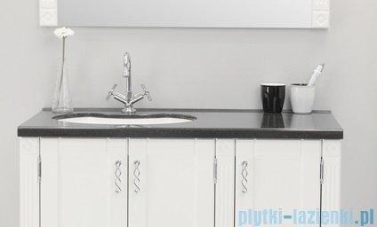 Antado Ritorno umywalka dolomitowa z blatem grafit 100x52cm UMB-1004-02