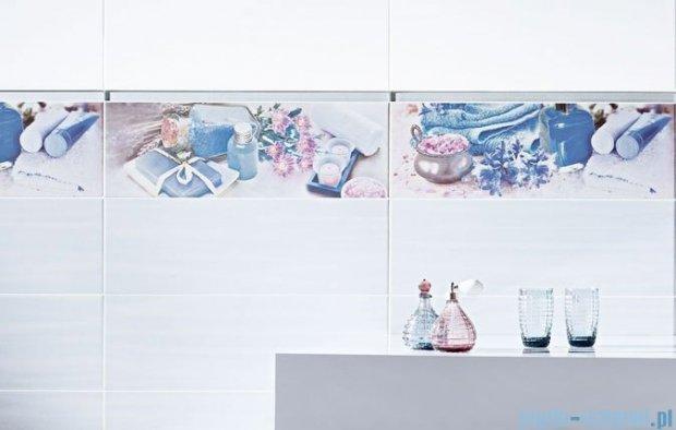 Paradyż Chiara bianco B inserto szklane 20x60