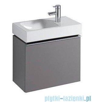 Keramag Icon Xs Szafka wisząca pod umywalkowa platynowy połysk 840054