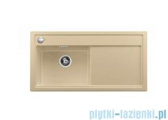 Blanco Zenar XL 6 S  Zlewozmywak Silgranit PuraDur komora lewa kolor: szampan z kor. aut. i szklaną deską do krojenia 519287