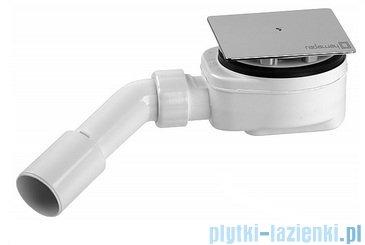 Radaway Euphoria KDJ Kabina prysznicowa 100x80 prawa szkło przejrzyste + brodzik Argos D + syfon 383040-01R/383051-01/4AD810-01