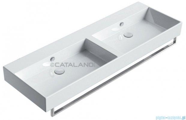 Catalano Premium 150 umywalka podwójna 150x50 z powłoką biała 115VP00