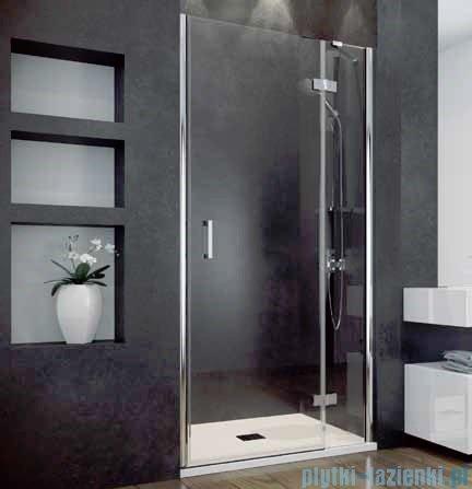 Besco Viva drzwi prysznicowe prawe 100x195 przejrzyste DVP-100-195-C