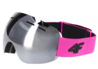 4F GGD060 Gogle narciarskie damskie ANTI-FOG UV400