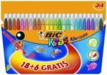 Flamastry Bic Kid Couleur [24szt]
