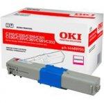 Toner Oki do C310/330/C510/511/530/351/361/561/352/361/362 | 2 000 str. | magenta