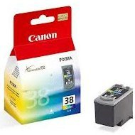 Glowica Canon CL38 do iP1800/2500, MP-140/210 | 9 ml | CMY