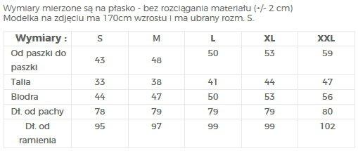 SUKIENKA Z FALBANAMI PRZY RĘKAWACH - NUMOCO / POLSKA