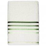Ręcznik Karsten - LUMINA / green - ecru