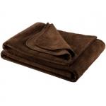 Koc Moca Design Soft Line - brązowy