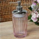 Dozownik do mydła w płynie Chic Antique - PEARL ROSE - różowy