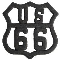 Podkładka Belldeco Retro - US66 - czarna