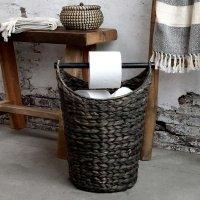 Kosz na papier toaletowy Chic Antique - czarny