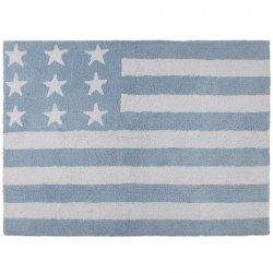 Dywan do prania w pralce - Lorena Canals USA FLAG - niebieski
