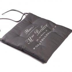 Poduszka na krzesło French Home - Madame - szara