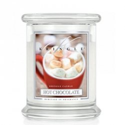 HOT CHOCOLATE - świeca zapachowa KRINGLE CANDLE - 75 godzin
