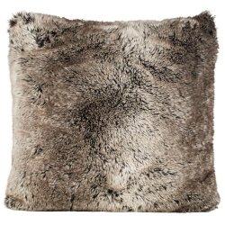 Poduszka futrzana Winter Home - Yukonwolf - 45x45 cm
