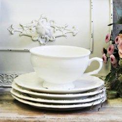 PROVENCE CHIC - filiżanka z podstawką do herbaty