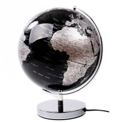 Globus podświetlany LED - Black - średnica 30 cm