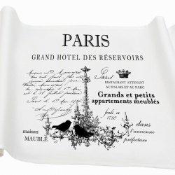 Bieżnik French Home - Paris M - biały