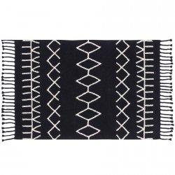 Dywan do prania w pralce - Lorena Canals BLACK&WHITE - Bereber Black