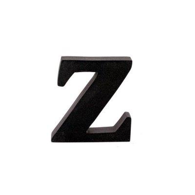 Litera ozdobna mała - Z - czarna