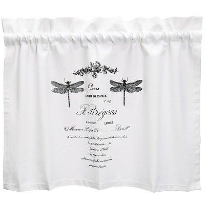 Zazdrostki French Home - French - białe - 70 cm