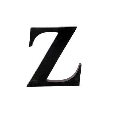 Litera ozdobna duża - Z - czarna